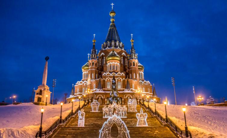 2018 — Ледовый фестиваль Архангелов и Ангелов