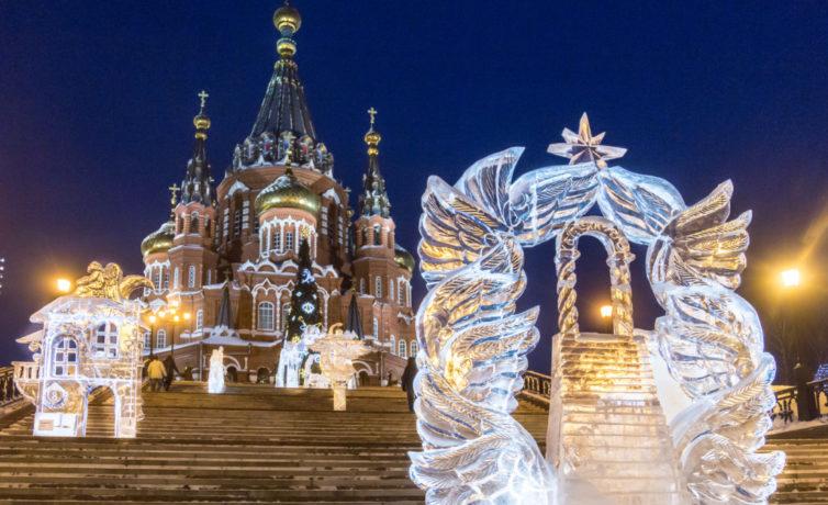 2019 — Ледовый фестиваль Архангелов и Ангелов