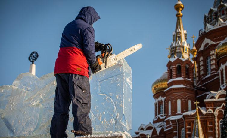 2021 — Ледовый фестиваль Архангелов и Ангелов