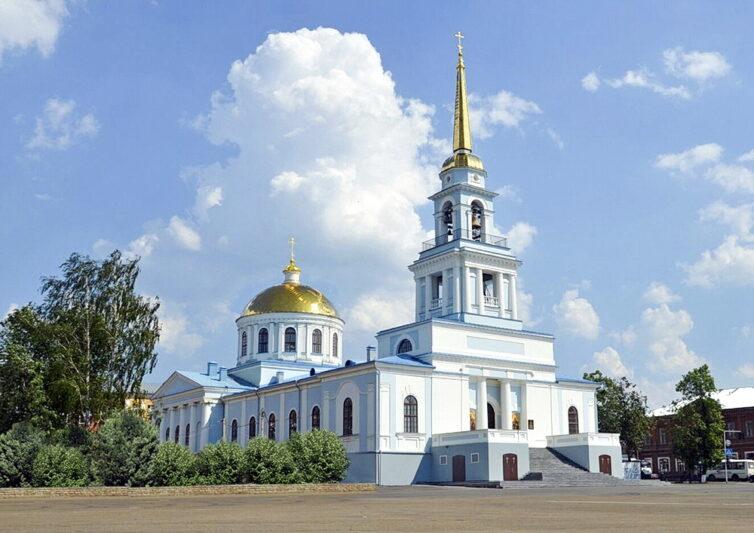 Благовещенском соборе Воткинска!